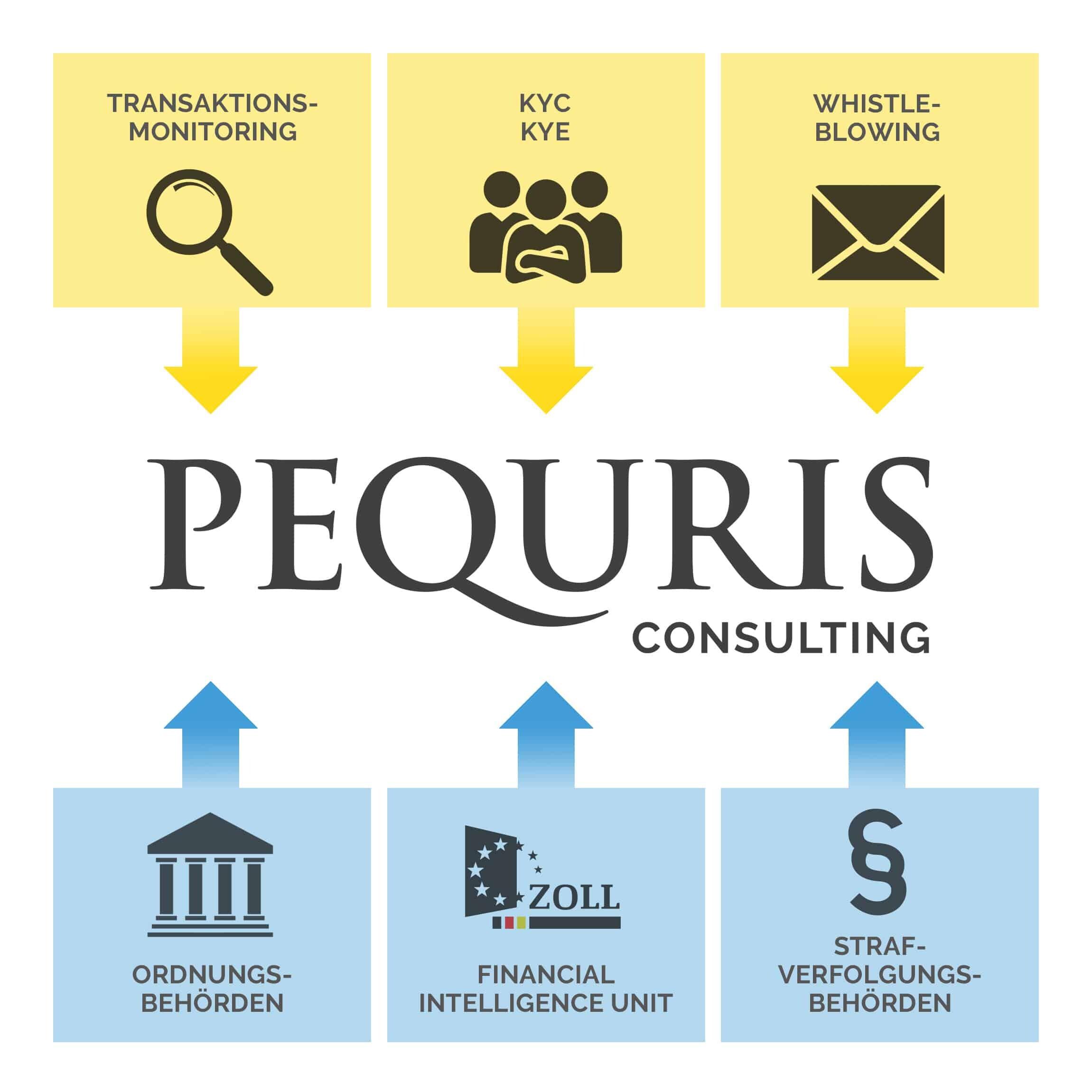 PEQURIS Geldwäscheberatung